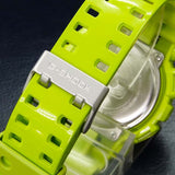 CASIO G-SHOCK X-LARGE G GREEN RESIN DIGITAL ANALOGUE WATCH GA-110B-3D