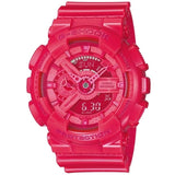 CASIO G-SHOCK X-LARGE G PINK RESIN DIGITAL ANALOGUE WATCH GA-110B-4D