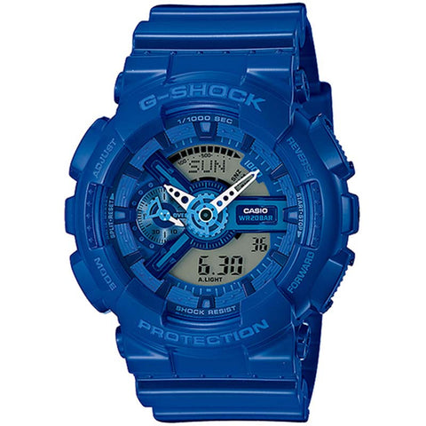 CASIO G-SHOCK 2014 BIG-CASE MEN'S BLUE STRAP WATCH GA-110BC-2A