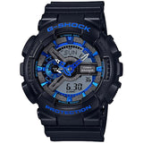 CASIO G-SHOCK MATTLE BLACK DIGITAL ANALOGUE WATCH GA-110CB-1A