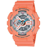 CASIO G-SHOCK HYPER COLOR ORANGE SERIES DIGITAL WATCH GA-110DN-4A