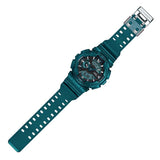 CASIO G-SHOCK METALLIC GREEN ANALOG DIGITAL WATCH GA-110NM-3A