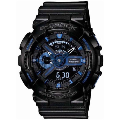 CASIO G-SHOCK 30TH ANNIVERSARY INITIAL BLUE 200M WATCH GA-113B-1A