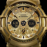CASIO G-SHOCK CRAY GOLD SERIES BLACK RESIN DIGITAL WATCH GA-200GD-9B2