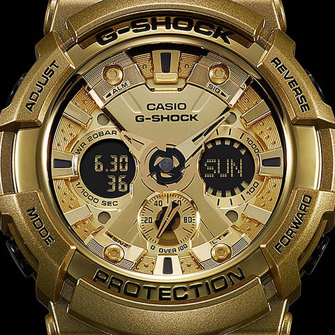Casio G Shock Cray Gold Series Black Resin Digital Watch