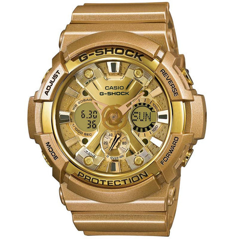 CASIO G-SHOCK 200M CRAZY GOLD COLOR DIGITAL WATCH GA-200GD-9