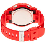 CASIO G-SHOCK DIGITAL ANALOGUE LIMITED MODELS RED WATCH GA-201RD-4A