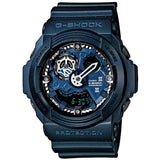 CASIO G-SHOCK METALLIC SHADOW BLUE RESIN LARGE WATCH GA-300A-2A