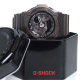 CASIO G-SHOCK METALLIC SHADOW BROWN RESIN LARGE WATCH GA-300A-5A