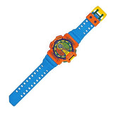 CASIO G-SHOCK ORANGE × BLUE ANALOG-DIGITAL WATCH GA-400-4AJF