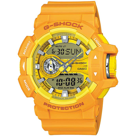 CASIO G-SHOCK COLORFUL BIG CASE SERIES LIMITED WATCH GA-400A-9A
