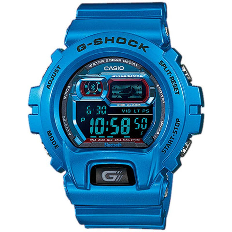 CASIO G-SHOCK BLUETOOTH 4.0 SMARTPHONE BLUE WATCH GB-X6900B-2