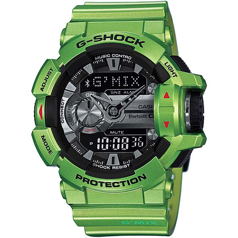 c3083e84cd5 CASIO G-SHOCK G MIX APP BLUETOOTH SMART GREEN WATCH GBA-400-3B – Watchain