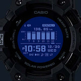 CASIO G-SHOCK G-SQUAD HEART RATE MONITOR AND GPS FUNCTIONALITY SOLAR WATCH GBD-H1000-1A7