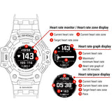 CASIO G-SHOCK G-SQUAD HEART RATE MONITOR AND GPS FUNCTIONALITY SOLAR WATCH GBD-H1000-1