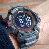 CASIO G-SHOCK G-SQUAD HEART RATE MONITOR AND GPS FUNCTIONALITY SOLAR WATCH GBD-H1000-8