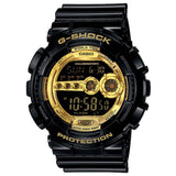 CASIO G-SHOCK GLOSS BLACK SUPER ILLUMINATOR DIGITAL WATCH GD-100GB-1D