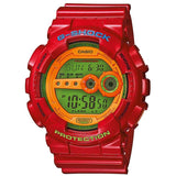 CASIO G-SHOCK LARGE RED HYPER COLORS RESIN DIGITAL WATCH GD-100HC-4D