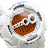 CASIO G-SHOCK GLOSS WHITE SUPER ILLUMINATOR DIGITAL WATCH GD-100SC-7D