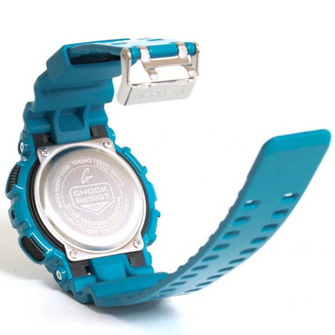 110c5daded21 CASIO G-SHOCK LAP MEMORY 60 GLOSSY BLUE RESIN WATCH GD-110-2D – Watchain