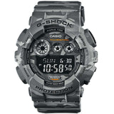 CASIO G-SHOCK GREY CAMOUFLAGE PATTERNS DIGITAL WATCH GD-120CM-8