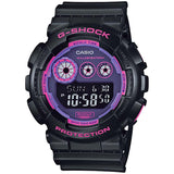 CASIO G-SHOCK PURPLE DIAL 200M BIG CASE MEN'S DIGITAL WATCH GD-120N-1B4