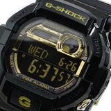 CASIO G-SHOCK GOLD BLACK GARISH GLOSSY RESIN DIGITAL WATCH GD-350BR-1D