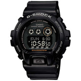 CASIO G-SHOCK LARGE 6900 SERIES BLACK FACE RESIN WATCH GD-X6900-1
