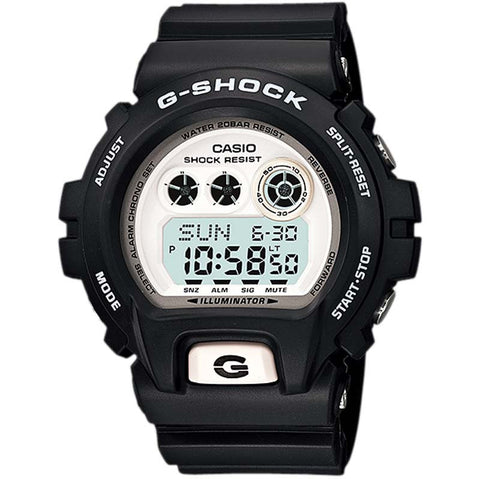 CASIO G-SHOCK EXTRA LARGE BLACK WHITE DIGITAL WATCH GD-X6900-7