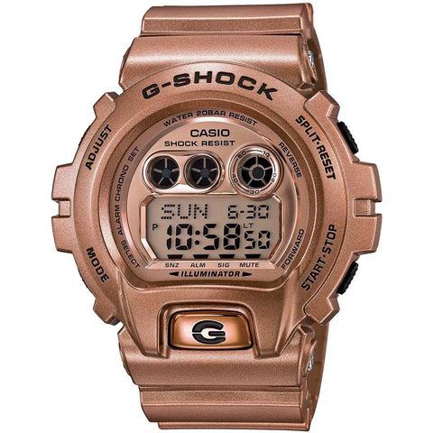 CASIO G-SHOCK 200M CRAZY GOLD COLOR DIGITAL WATCH GD-X6900GD-9