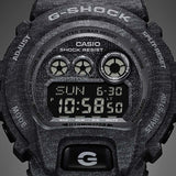 CASIO G-SHOCK HEATHERED COLOR SERIES BLACK WATCH GD-X6900HT-1