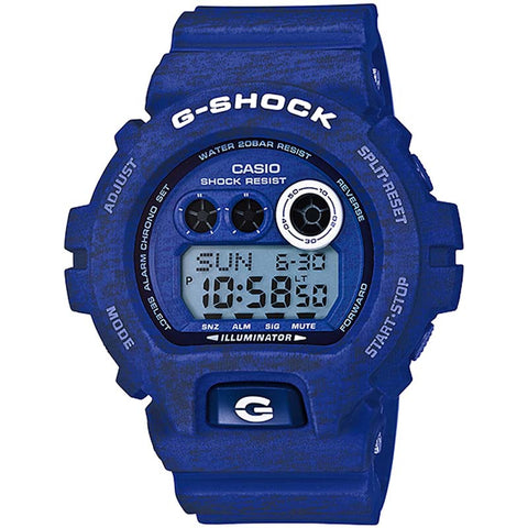 CASIO G-SHOCK HEATHERED COLOR SERIES BLUE WATCH GD-X6900HT-2