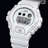 CASIO G-SHOCK HEATHERED COLOR SERIES WHITE WATCH GD-X6900HT-7