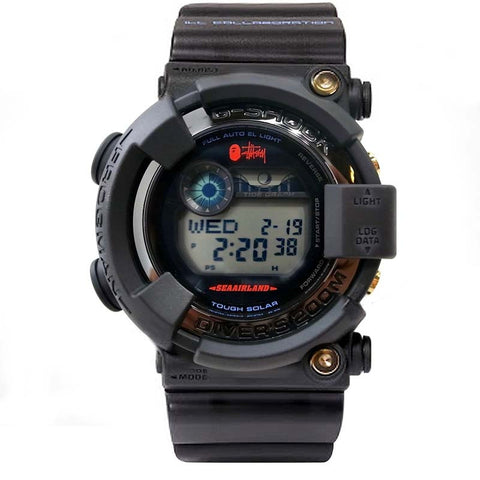 CASIO G-SHOCK FROGMAN x STUSSY x BAPE SOLAR WATCH GF-8250BS-1JR