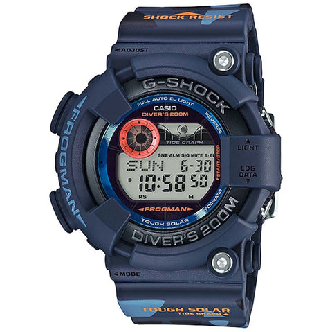 CASIO G-SHOCK FROGMAN MEN IN CAMOUFLAGE SOLAR WATCH GF-8250CM-2
