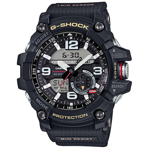 CASIO G-SHOCK MASTER OF G MUDMASTER QUARTZ WATCH GG-1000-1ADR