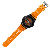 CASIO G-SHOCK G-LIDE TIDE GRAPH ORANGE RESIN DIGITAL WATCH GLX-150-4D