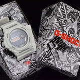 CASIO G-SHOCK x IN4MATION WHITE RESIN LIMITED EDITION WATCH GLX-150X-7