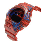 CASIO G-SHOCK RED CAMOUFLAGE PATTERNS DIGITAL WATCH GMD-S6900F-4