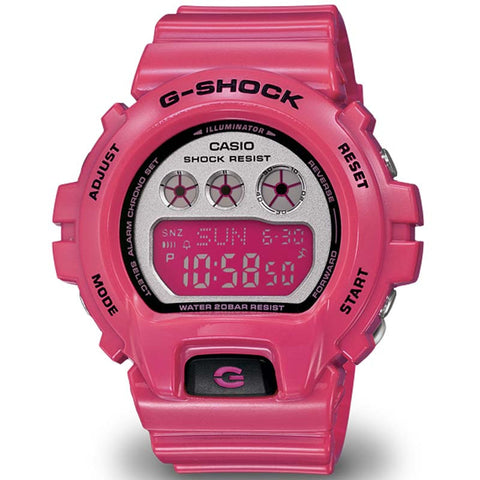 CASIO G-SHOCK S-SERIES WOMEN'S NEON PINK WATCH GMD-S6900CC-4