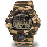 CASIO G-SHOCK BROWN CAMOUFLAGE PATTERNS WOMEN'S WATCH GMDS6900CF-3