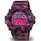 CASIO G-SHOCK PINK CAMOUFLAGE PATTERNS WOMEN'S WATCH GMDS6900CF-4