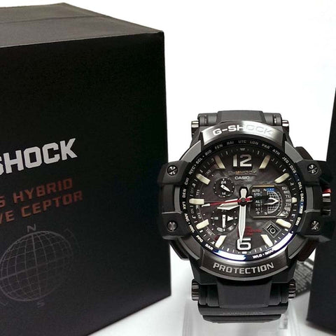 CASIO G-SHOCK SKY COCKPIT GPS HYBRID WAVE SOLAR WATCH GPW-1000FC-1A