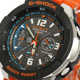 CASIO G-SHOCK AVIATOR ORANGE BAND SOLAR POWER WATCH GW-3000M-4A