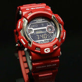 CASIO G-SHOCK GULFMAN RED MEN IN RESCUE SOLAR WATCH GW-9110RD-4