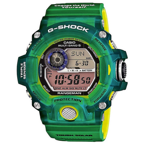 "CASIO G-SHOCK RANGEMAN ICERC 2015 ""LOVE THE SEA & EARTH"" GW-9401KJ-3"