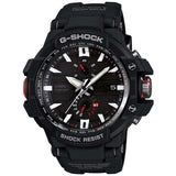 CASIO G-SHOCK AVIATION SOLAR BLACK RESIN ANALOG WATCH GWA1000-1A