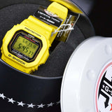 CASIO G-SHOCK 30th ANNIVERSARY YELLOW 6 MULTIBANDS WATCH GW-M5630E-9