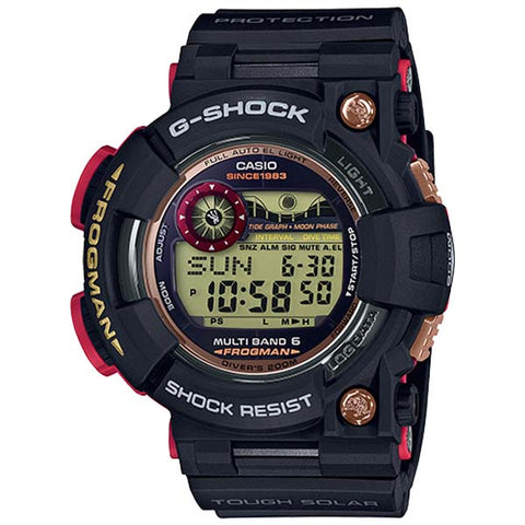 CASIO G-SHOCK FROGMAN 35TH ANNIVERSARY SOLAR WATCH GWF-1035F-1
