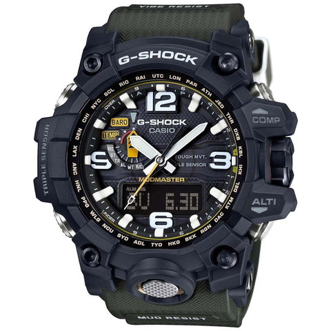 CASIO G-SHOCK MUDMASTER TRIPLE SENSOR SOLAR WATCH GWG-1000-1A3
